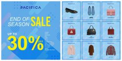 Pacifica End of season sale (16 พ.ย. – 13 ธ.ค. 2561)