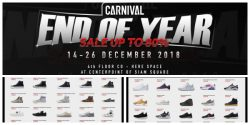 CARNIVAL End of year SALE @ Centerpoint of Siam Square (14 – 26 ธ.ค. 2561)