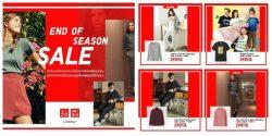 Uniqlo END OF SEASON SALE สินค้าราคาพิเศษส่งท้ายซีซั่น (เริ่ม 12 ธ.ค. 2561)