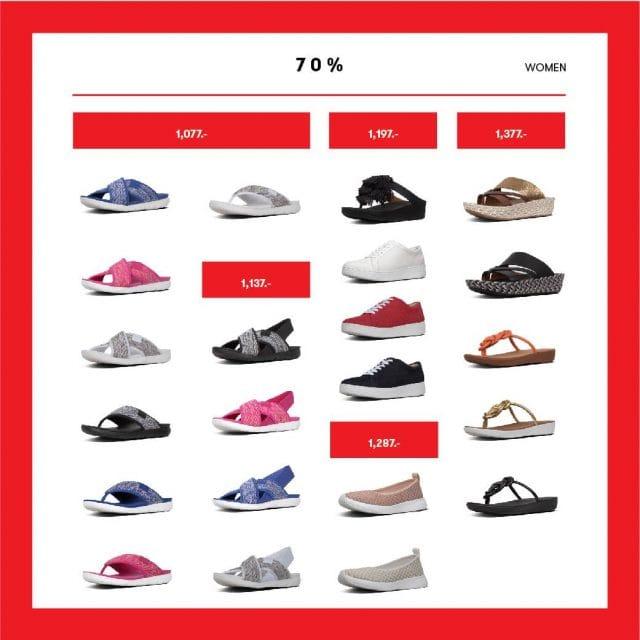 Fitflop Sale ฉลองวันแม่ รองเท้า ลดสูงสุด 70% 2- 14 สิงหาคม 2562