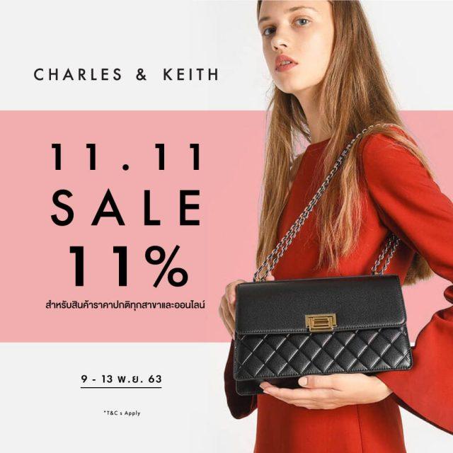 CHARLES & KEITH End of Season Sale ลดสูงสุด 50% (เริ่ม 10 มิ.ย. 2564)