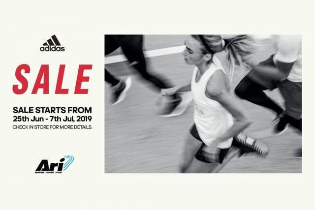 Adidas SALE อาดิดาส ลดสูงสุด 50% (22 - 31 พ.ค.2563)