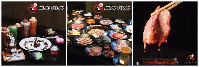 Kingkong Buffet ราคา 499 บาท ทุกวันจันทร์ - พฤหัส ที่สาขา เอกมัย กันยายน 2562