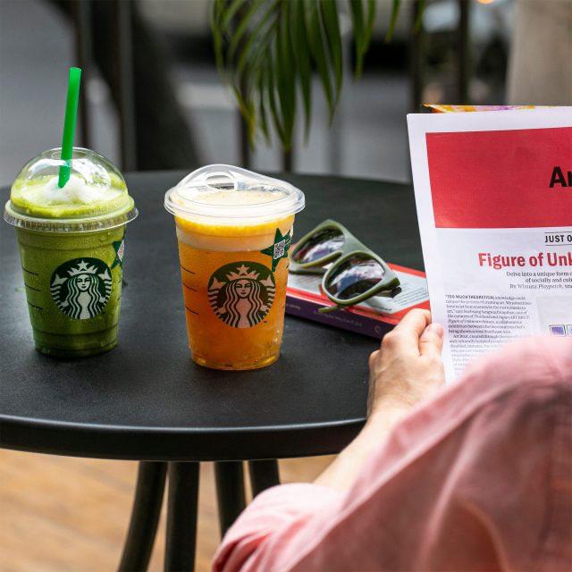 Starbucks เครื่องดื่ม สตาร์บัคส์ ซื้อ 1 แถม 1 ฟรี (พ.ย. 2563)