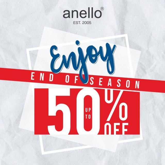 anello End of Season Sale กระเป๋าอเนลโล่ ลดสูงสุด 50% (มิถุนายน 2563)