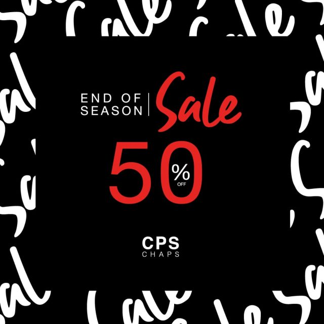 "CPS CHAPS End Of Season Sale ""Autumn / Winter 2019"" (เริ่ม 29 พ.ย. 2562)"