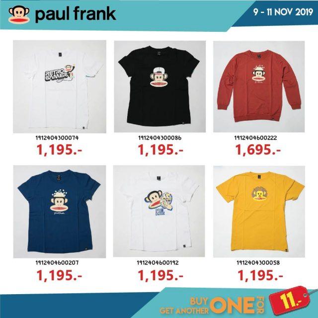 NYLA 11.11 SALE Dickies / Paul Frank / Volcom ... ชิ้นที่สอง 11 บาท (9 - 11 พ.ย. 2562)