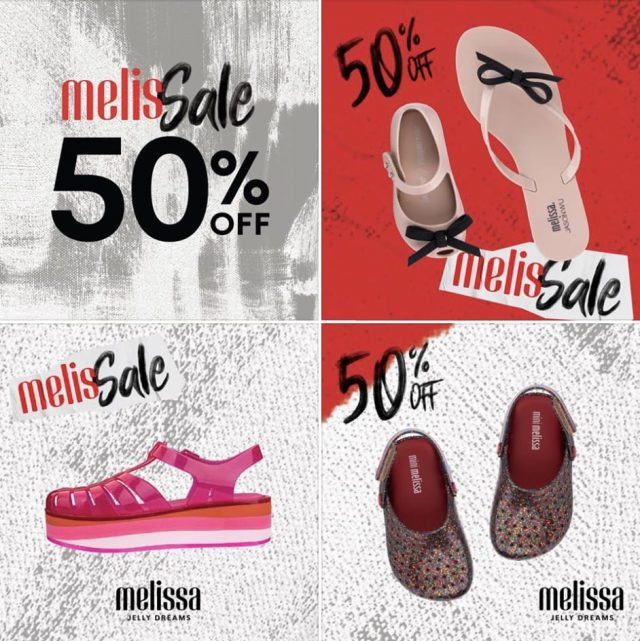 Melissa End of Season Sale Autumn / Winter 2019 (2 ธ.ค. 2562 – 2 ก.พ. 2563)