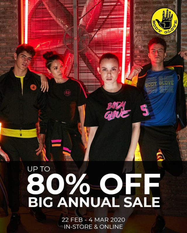 Body Glove SALE ลดสูงสุด 50% ที่ Shop ทุกสาขา (17 - 31 พ.ค. 2563)