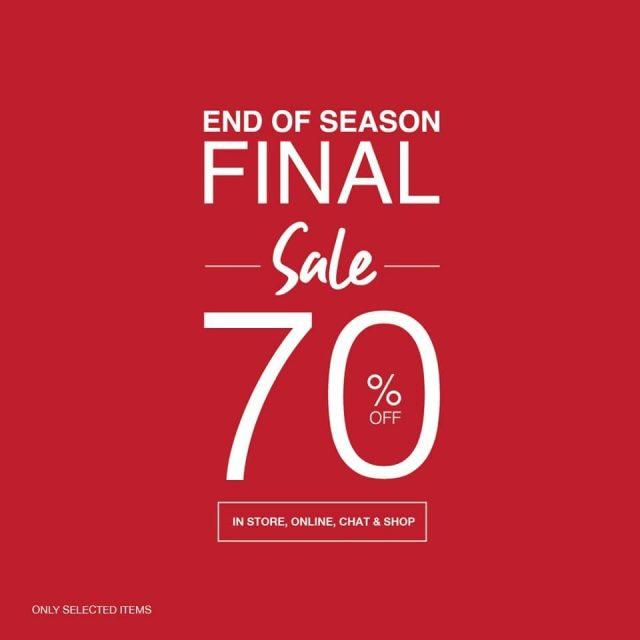 Cps Chaps Sale End of Season Sale ลด 50 - 70 % (ถึง 3 ม.ค. 2564)