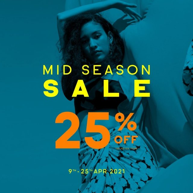 JASPAL MID Season Sale ลด 25% (9 - 25 เม.ย. 2564)