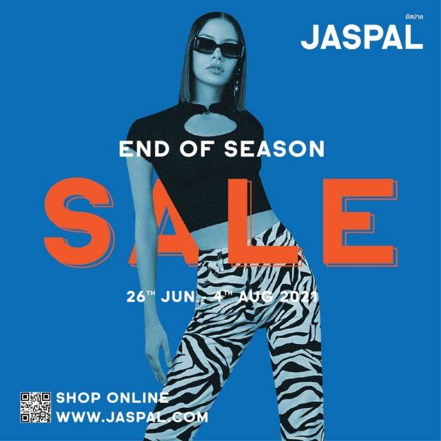 JASPAL End Of Season Sale ลด 50% (26 มิ.ย. – 4 ส.ค. 2564)