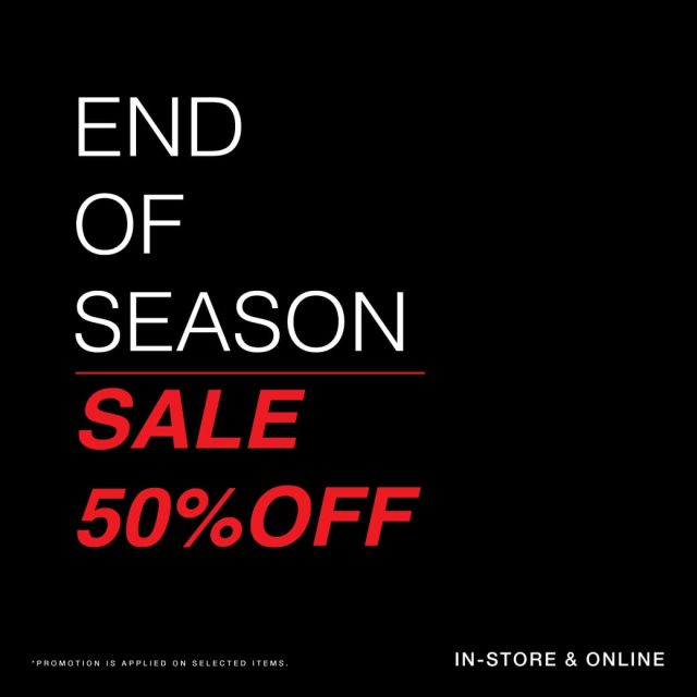 Cps Chaps End of Season Sale ลด 50% (11 มิ.ย. - 11 ก.ค. 2564)